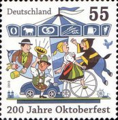 [The 200th Anniversary of the Munich October Festival, type CRZ]