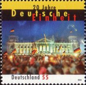 [The 20th Anniversary of German Reunion, type CSA]