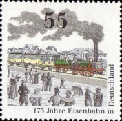 [The 175th Anniversary of German Railroads, Typ CSJ]
