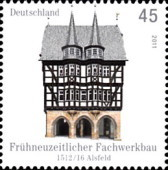 [Architecture - Half Timbered Buildings in Alsfeld and Hartenstein, type CTF]
