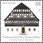 [Architecture - Half Timbered Buildings in Alsfeld and Hartenstein, type CTG]