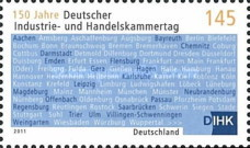 [The 150th Anniversary of The Association of German Chambers of Industry and Commerce, type CTI]