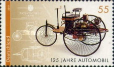 [The 125th Anniversary of the Automobile, type CTK]