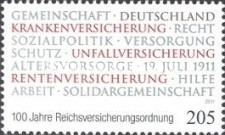 [The 100th Anniversary of the Reich Insurance Code, type CTL]