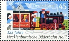 [The 125th Anniversary of Mecklenbourg Resort Railway - Molli, type CTO]