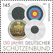 [The 150th Anniversary of the German Shooting Federation, type CTU]