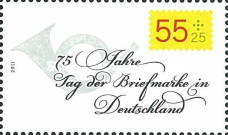 [The 75th Anniversary of the First Stamp Day, type CTV]