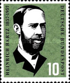 [The 100th Anniversary of the Birth of H.R.Hertz, type CU]