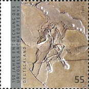 [The 150th Anniversary of the Discovery of the First Bird, Archaeopteryx, type CUA]