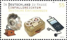 [At Home in Germany - German Inventions, type CUF]