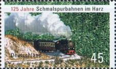 [The 125th Anniversary of the Narrow Gauge Railways in Harz, type CUV]