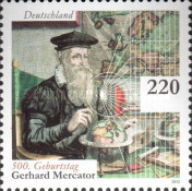 [The 500th Anniversary of the Birth of Gerhard Mercator, 1512-1594, type CVB]