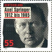 [The 100th Anniversary of the Birth of Axel Springer, 1912-1985, type CVH]