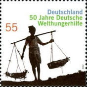 [The 50th Anniversary of German World Food Relief, type CVI]