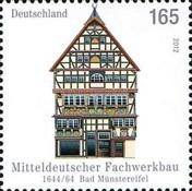 [Half Timbered Buildings - Bad Münstereifel, 1644-1664, type CVL]