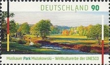 [UNESCO World Heritage - Muskauer Park - Joint Issue with Poland, type CVV]