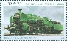 [Youth Philately - Historical Steam Locomotives, type CWA]