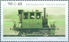 [Youth Philately - Historical Steam Locomotives, type CWB]