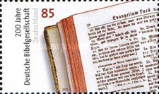 [The 200th Anniversary of the German Bible Society - Deutsche Bibelgesellschaft, type CWG]