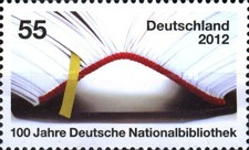 [The 100th Anniversary of the German National Library, type CWH]