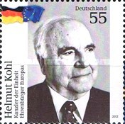 [Helmut Kohl - Honorary Citizen of Europe, type CWJ]
