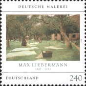 [Paintings - Die Rasenbleiche by Max Liebermann, 1847-1935, Typ CWV]