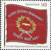 [The 150th Anniversary of the ADAV - German Labor Union, Typ CXK]