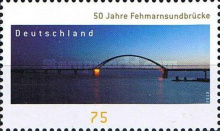 [The 50th Anniversary of the Fehmarnsund Bridge, Typ CXO]