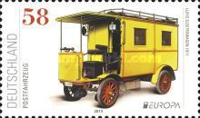 [EUROPA Stamps - Postal Vehicles, Typ CXQ]