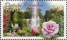 [The 100th Anniversary of the Rose Garden, Forst (Lausitz), Typ CXW]