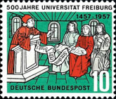 [The 500th Anniversary of the Freiburg University, Typ CY]