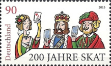 [The 200th Anniversary of the German Cardgame Skatspiel, Typ CYM]