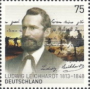 [The 200th Anniversary of the Birth of Ludwig Leichhardt, 1813-1848 - Joint Issue with Australia, Typ CYO]