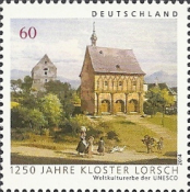 [The 1250th Anniversary of Lorsch Abbey, type CZA]