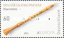 [EUROPA Stamps - Musical Instruments, Typ CZV]
