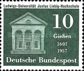[The 350th Anniversary of the University in Giessen, Typ DA]