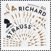 [The 150th Anniversary of the Birth of Richard Strauss, 1864-1949, type DAB]