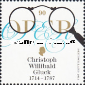 [The 300th Anniversary of the Birth of Christoph Willibald Gluck, 1714-1787, Typ DAG]