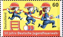 [The 50th Anniversary of the Young German Firefighters, Typ DAM]