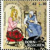 [Charity Stamps - Sleeping Beauty, type DBK]