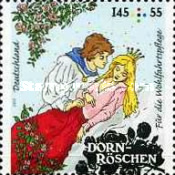 [Charity Stamps - Sleeping Beauty, type DBM]