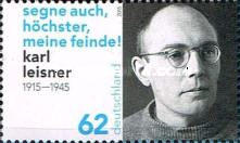 [The 100th Anniversary of the Birth of Karl Leisner, 1915-1945, type DBN]