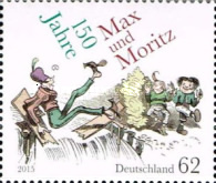 [The 150th Anniversary of Max and Moritz, type DBW]
