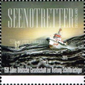 [The 150th Anniversary of the DGzRS - German Maritime Search and Rescue Service, type DCB]