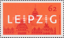 [The 1000th Anniversary of the City of Leipzig, type DCL]