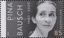 [The 75th Anniversary of the Birth of Pina Bausch, 1940-2009, type DCM]
