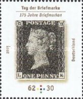 [The 175th Anniversary of the Worlds First Postage Stamp - One Penny Black, type DCS]