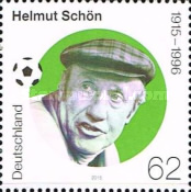 [The 100th Anniversary of the Birth of  Helmut Schön, 1915-1996, type DCT]