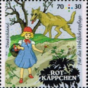 [Charity Stamps - Little Red Riding Hood, Typ DDR]
