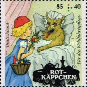 [Charity Stamps - Little Red Riding Hood, Typ DDS]
